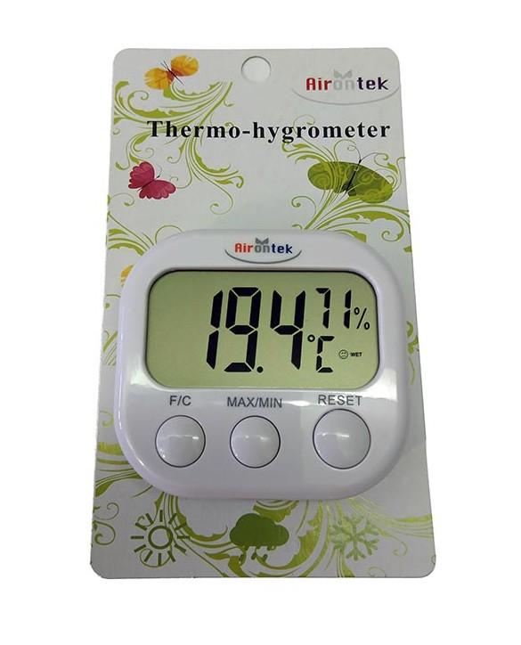 Min/max termometer in higrometer