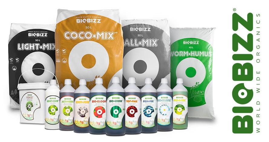 Kakovostna organska gnojila, dodatki in substrati Biobizz